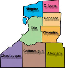 Western New York State Map.Area 50 Wny General Service Assembly