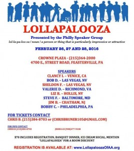 LOLLAPALOOZA @ Crown Plaza | Feasterville-Trevose | Pennsylvania | United States