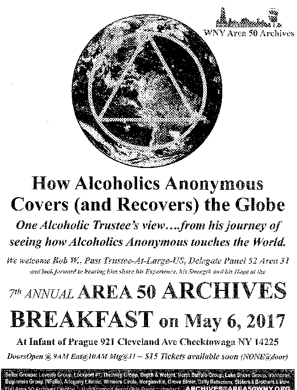 7th Annual Area 50 Archives Breakfast @ Infant of Prague Church | Galien | Michigan | United States
