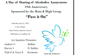 A Day Of Sharing @ Holy Trinity Lutheran Church | Buffalo | New York | United States